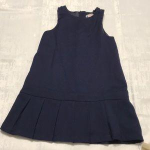 Navy blue uniform dress